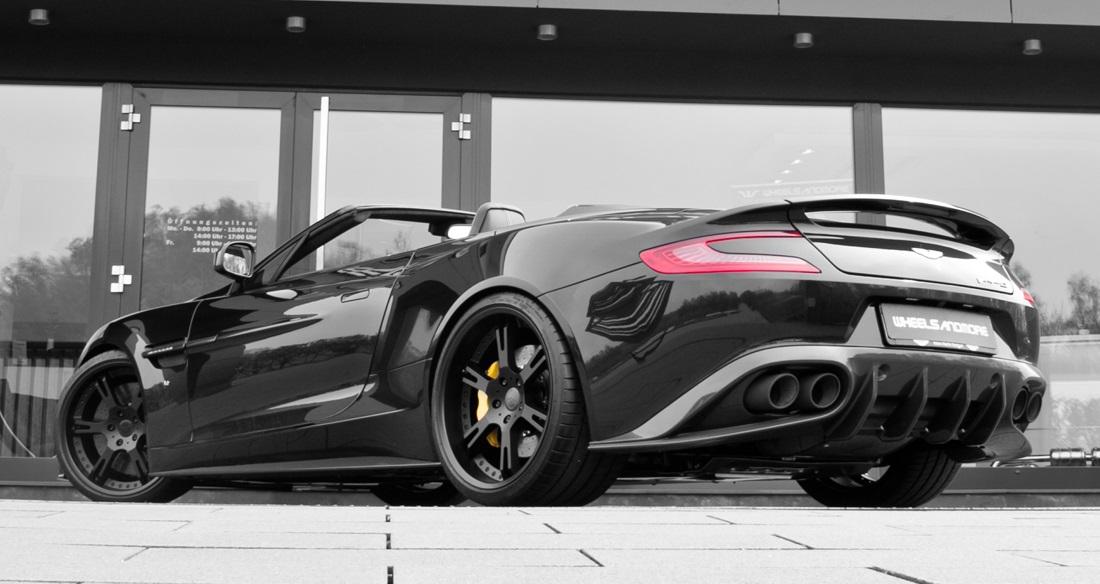 Wheelsandmore Aston Martin Vanquish Volante Is Achingly Beautiful