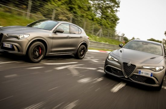180614 Alfa Romeo ORAX8537 550x360 at Official: Alfa Romeo Stelvio and Giulia NRING Edition