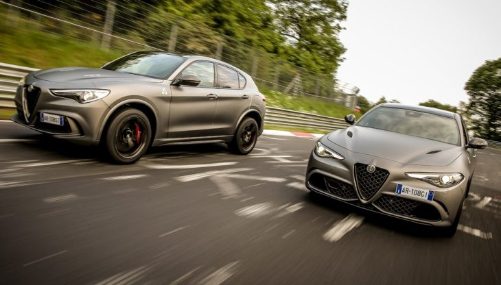 180614 Alfa Romeo ORAX8537 730x416 at Official: Alfa Romeo Stelvio and Giulia NRING Edition