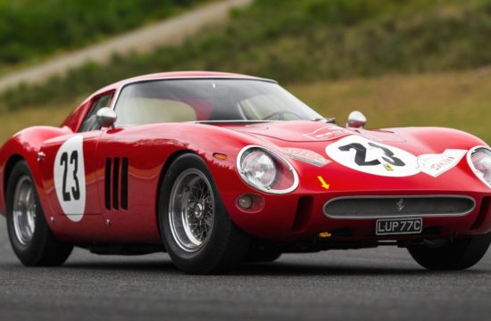 1962 Ferrari 250 GTO 1 550x360 at 1962 Ferrari 250 GTO to Cross the Auction Block, Estimated at $45 Million