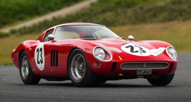 1962 Ferrari 250 GTO 1 730x391 at 1962 Ferrari 250 GTO to Cross the Auction Block, Estimated at $45 Million