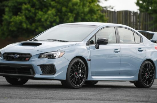 19MY STI Series.Gray front 550x360 at 2019 Subaru WRX and WRX STI Series.Gray   Specs & Details