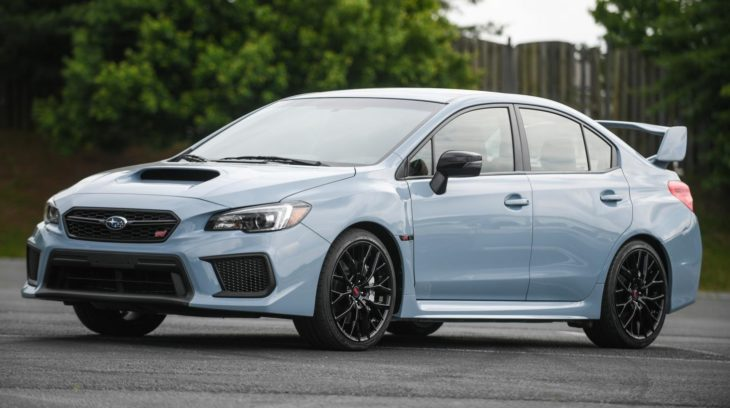 19MY STI Series.Gray front 730x408 at 2019 Subaru WRX and WRX STI Series.Gray   Specs & Details