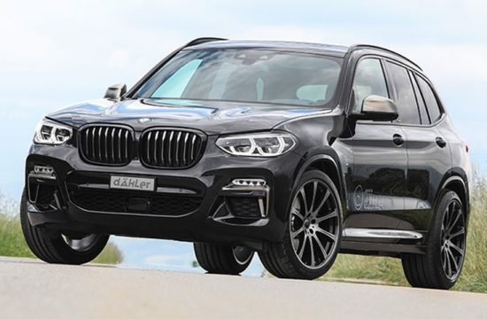 2018 BMW X3 M40i by Dähler 1 550x360 at 2018 BMW X3 M40i by Dähler Gets 420 hp