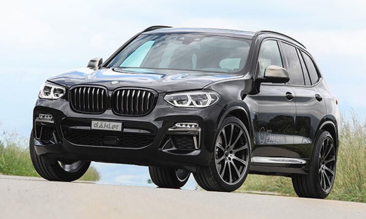 2018 BMW X3 M40i by Dähler 1 730x437 at 2018 BMW X3 M40i by Dähler Gets 420 hp