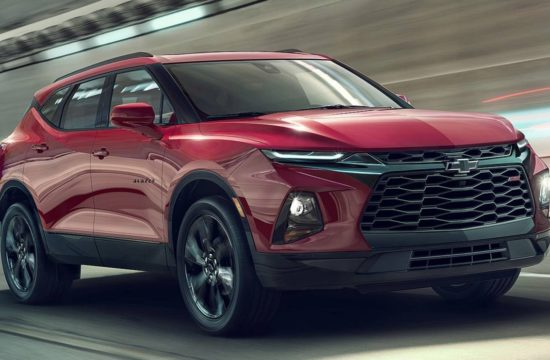 2019 Chevrolet Blazer 1 550x360 at 2019 Chevrolet Blazer Unveiled with  Bold Design, Lots of Tech