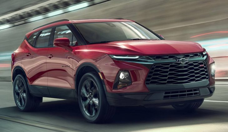 2019 Chevrolet Blazer 1 730x423 at 2019 Chevrolet Blazer Unveiled with  Bold Design, Lots of Tech
