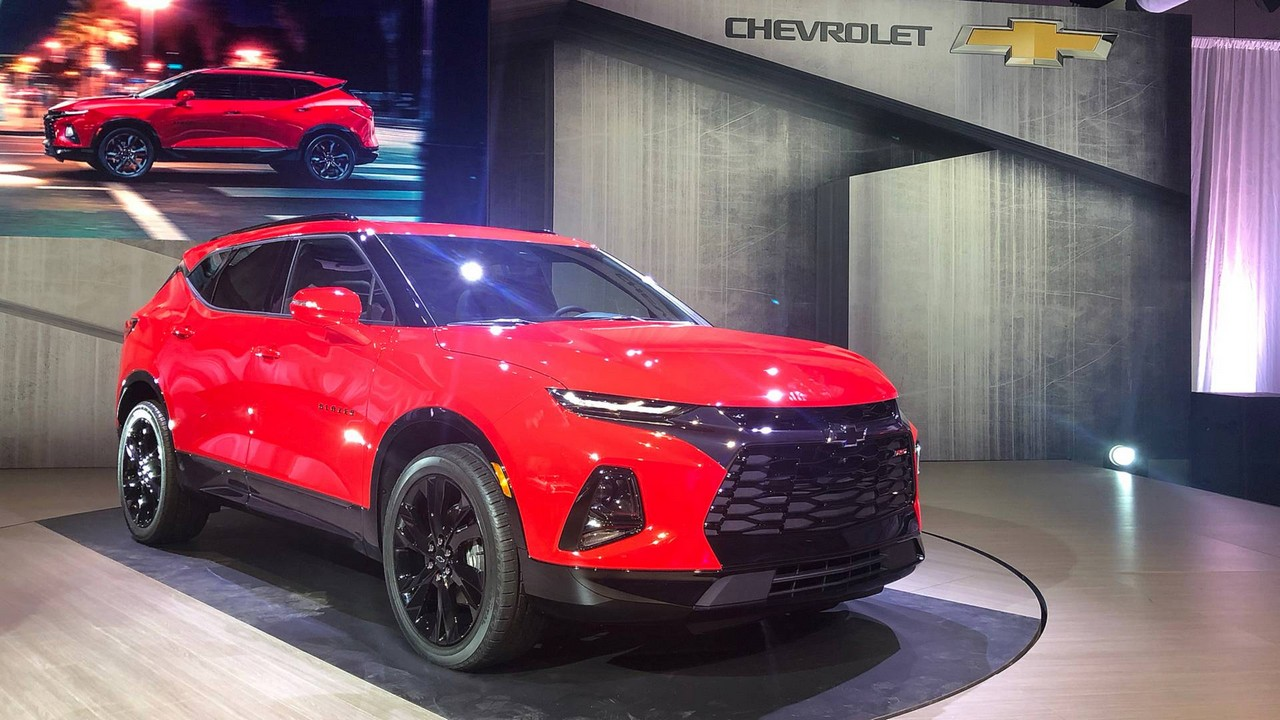 2019 Chevrolet Blazer Unveiled With Bold Design Lots Of Tech