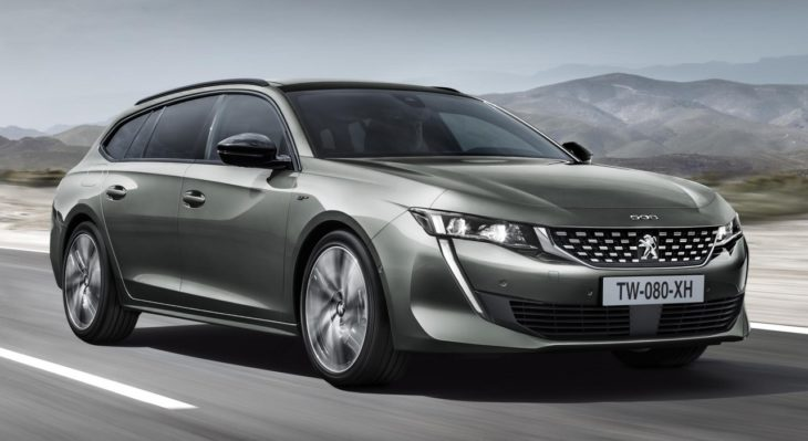 2019 Peugeot 508 SW 1 730x399 at 2019 Peugeot 508 SW Wagon Is Even Nicer Than the Sedan