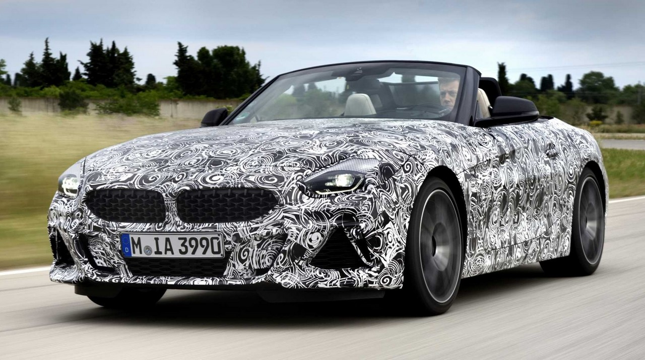 new 2019 bmw z4 comes out to play. Black Bedroom Furniture Sets. Home Design Ideas
