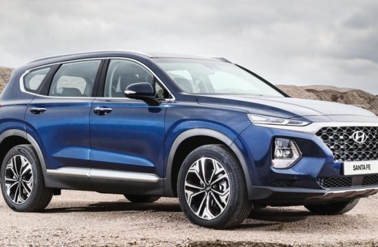 2019 santa fe msrp 1 550x360 at 2019 Hyundai Santa Fe MSRP Announced   Starts at $25,500
