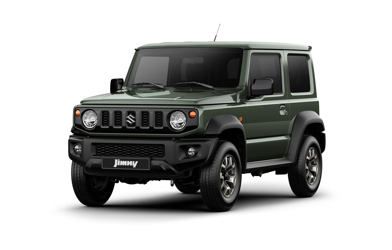 2019 suzuki jimny revealed in first official pictures. Black Bedroom Furniture Sets. Home Design Ideas