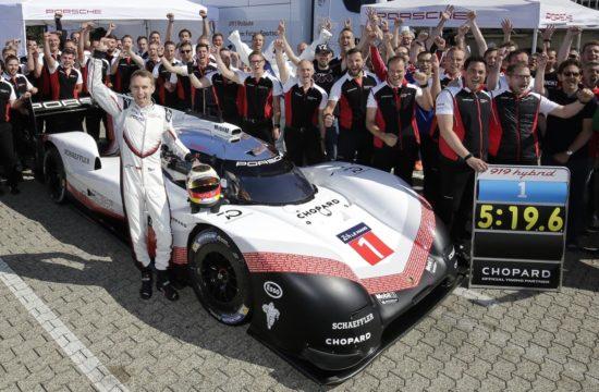 919 hybrid nurburgring 1 550x360 at Porsche 919 Hybrid Evo Shatters Nurburgrings Lap Record