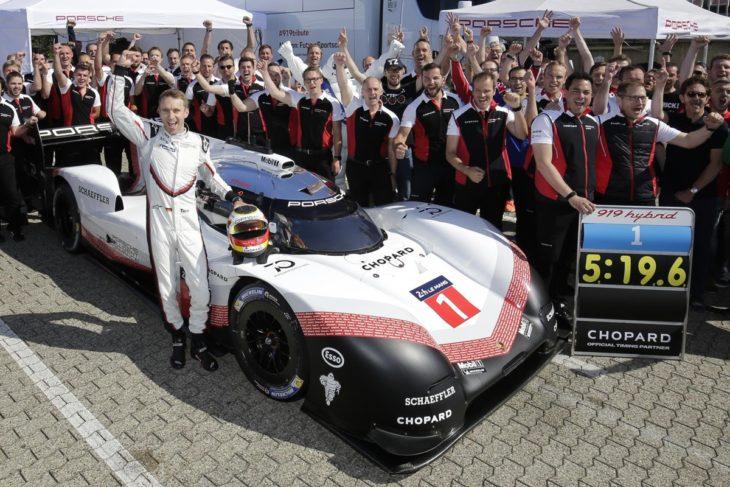 919 hybrid nurburgring 1 730x487 at Porsche 919 Hybrid Evo Shatters Nurburgrings Lap Record