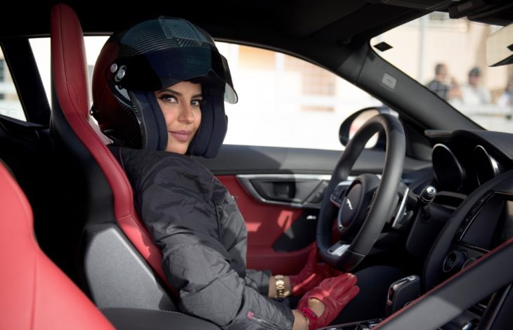 Aseel Al Hamad marks the end of the ban on women drivers in Saudi Arabia 730x470 at On the Reversal of Ban on Female Drivers in Saudi Arabia