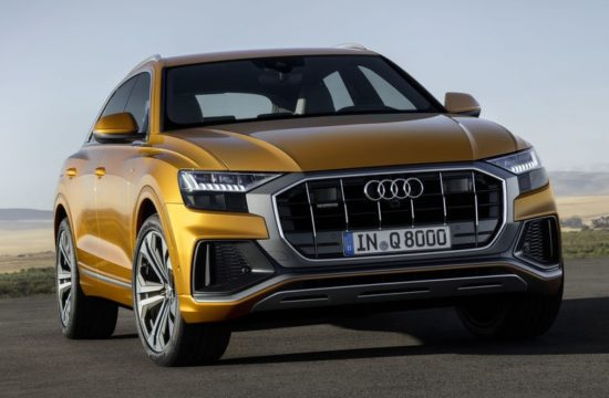 Audi Q8 official 1 550x360 at 2019 Audi Q8 Luxury SUV Goes Official
