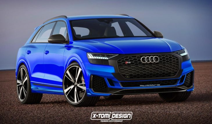 Audi RS Q8 730x428 at Audi RS Q8 Looks Predictably Awesome