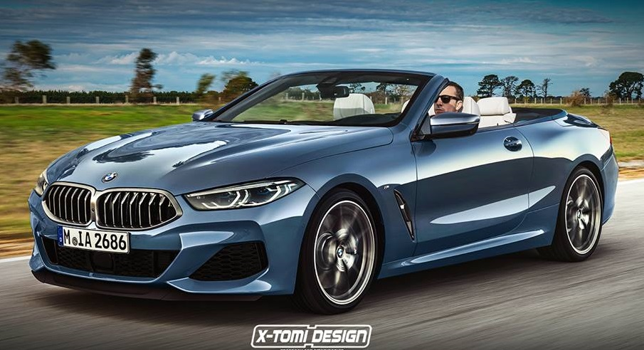2020 Bmw 8 Series Cabrio Imagined In Excellent Rendering