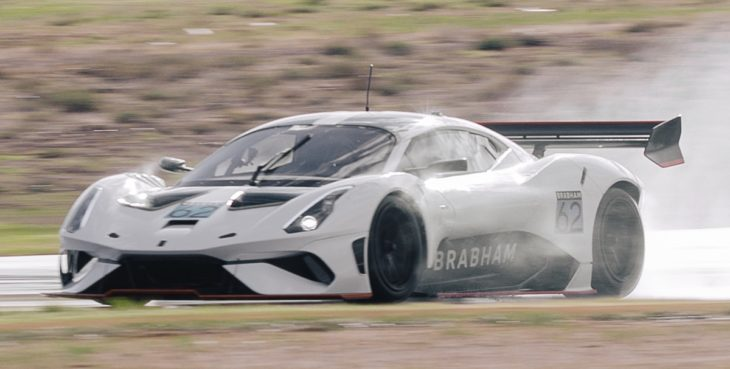 BT62 Bend Track 730x369 at Brabham BT62 Tackles The Bend in Styles