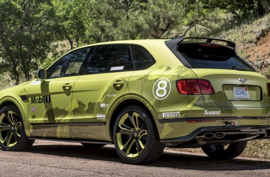 Bentley Bentayga Pikes Peak 550x360 at Bentley Bentayga Sets Production SUV Record at Pikes Peak