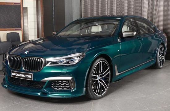Boston Green M760Li 3 550x360 at Ultimate 7er: Custom BMW M760Li in Boston Green