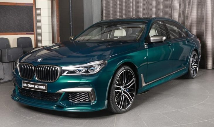Boston Green M760Li 3 730x435 at Ultimate 7er: Custom BMW M760Li in Boston Green