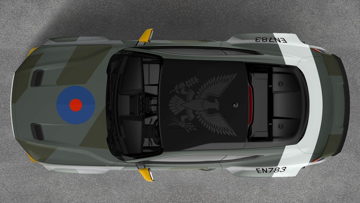 Eagle Squadron Mustang Gt Is An Homage To Wwii Fighter Pilots