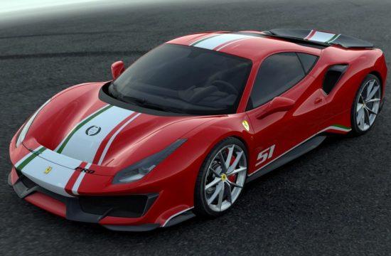 Ferrari 488 Pista Piloti Ferrari 1 550x360 at Ferrari 488 Pista 'Piloti Ferrari' Tailor Made Unveiled at Le Mans