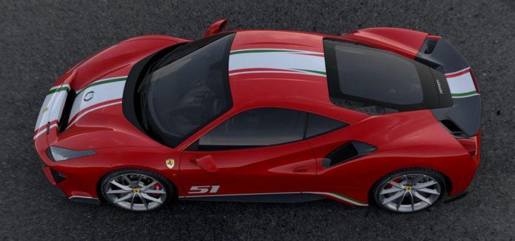 Ferrari 488 Pista Piloti Ferrari 2 730x342 at Ferrari 488 Pista 'Piloti Ferrari' Tailor Made Unveiled at Le Mans