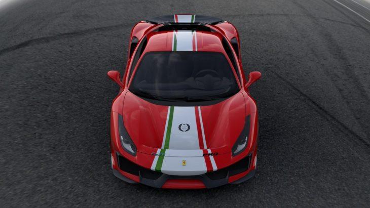 Ferrari 488 Pista Piloti Ferrari 3 730x411 at Ferrari 488 Pista 'Piloti Ferrari' Tailor Made Unveiled at Le Mans