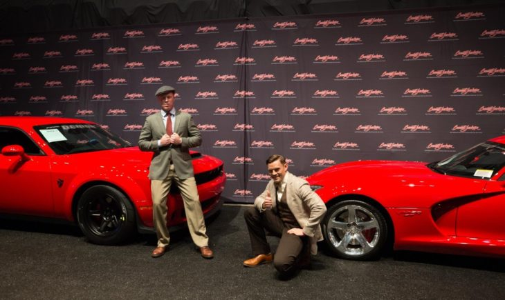 Final Dodge Viper and Challenger Demon 1 730x435 at Final Dodge Viper and Challenger Demon Raise $1 Million in Charity Auction