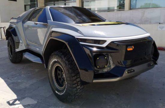 Golem SUV 1 550x360 at DSD Design Golem SUV Previewed in Concept Form