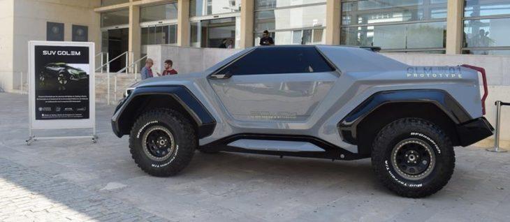 Golem SUV 2 730x318 at DSD Design Golem SUV Previewed in Concept Form