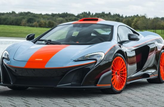 MSO Gulf Racing theme McLaren 675LT 01 exterior resized GF Williams 550x360 at Bespoke McLaren 675LT MSO Gets F1 Long Tails Gulf Livery