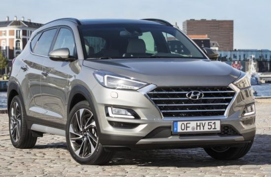 New Hyundai Tucson 21 550x360 at New Hyundai Tuscon Gets 48 V Mild Hybrid Powerrain