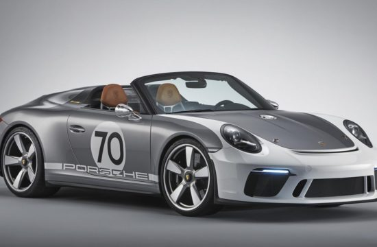 Porsche 911 Speedster Concept 1 550x360 at Porsche 911 Speedster Concept Is a 70th Anniversary Special