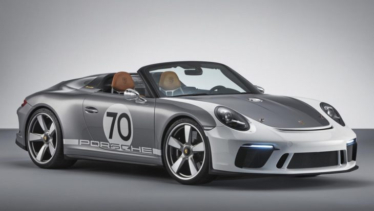 Porsche 911 Speedster Concept 1 730x413 at Porsche 911 Speedster Concept Is a 70th Anniversary Special