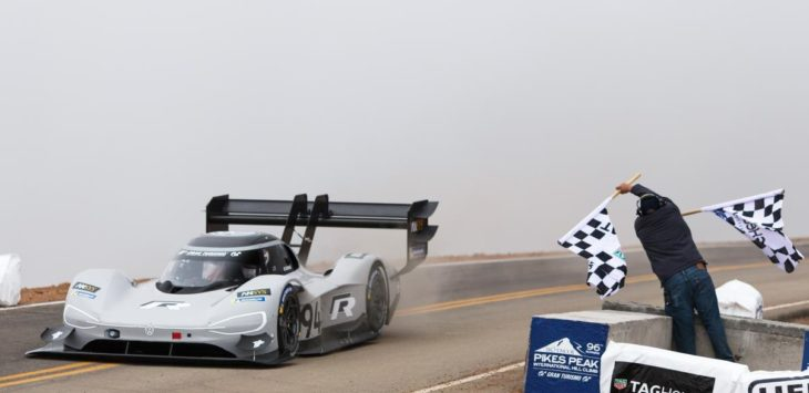 VW I.D. R Sets New Pikes Peak Record 1 1 730x355 at Its Done it! VW I.D. R Sets New Pikes Peak Record