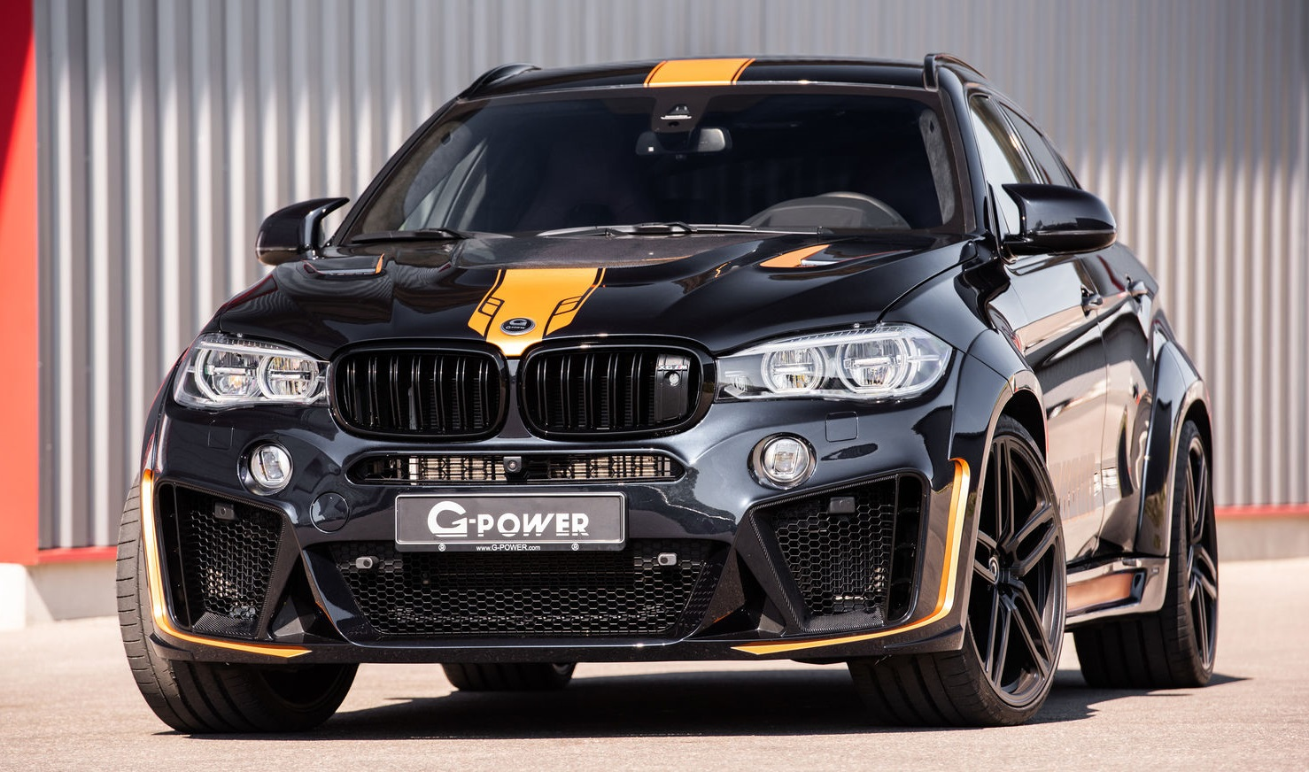 Latest G Power Bmw X6m Typhoon Is An Orange Accented Beast