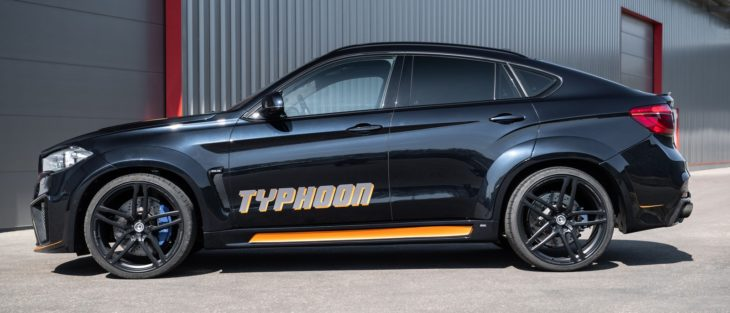 g power x6 m typhoon 2 730x313 at Latest G Power BMW X6M TYPHOON Is an Orange Accented Beast