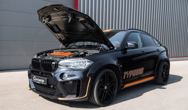g power x6 m typhoon 4 730x426 at Latest G Power BMW X6M TYPHOON Is an Orange Accented Beast