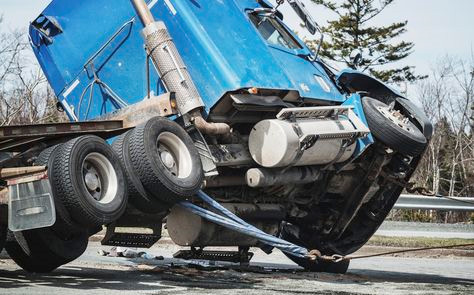 truck accident at Can Truck Accidents in Las Vegas be Preventable?
