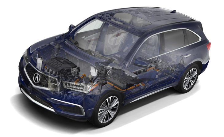 01 Vehicle Overview 730x448 at 2019 Acura MDX Sport Hybrid   Pricing and Specs