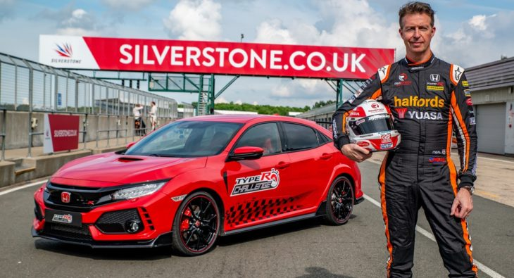 134326 Three in three for Type R British Touring Car champion Matt Neal takes1 730x395 at 2018 Honda Civic Type R Bags Another Record   This Time Silverstone