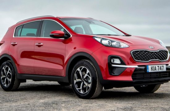 2019 Kia Sportage UK 1 550x360 at 2019 Kia Sportage   UK Pricing and Specs