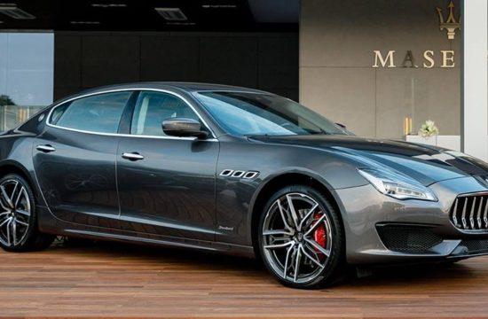 2019 Maserati Quattroporte 550x360 at 2019 Maserati Quattroporte and Levante Get New Engine in the UK