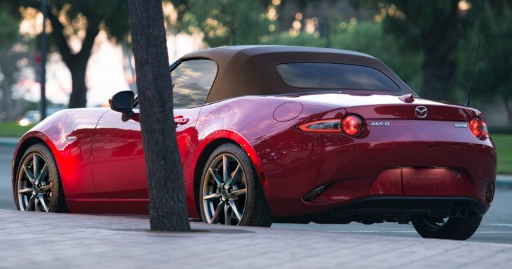 2019 Mazda MX 5 1 730x383 at 2019 Mazda MX 5 (US Spec) Gets Power and Tech Upgrade