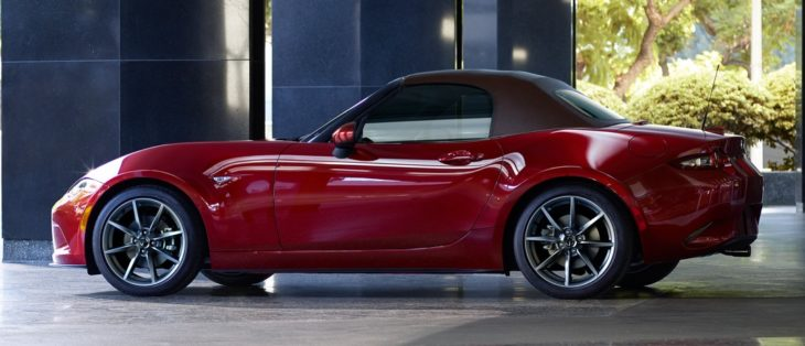 2019 Mazda MX 5 2 730x314 at 2019 Mazda MX 5 (US Spec) Gets Power and Tech Upgrade