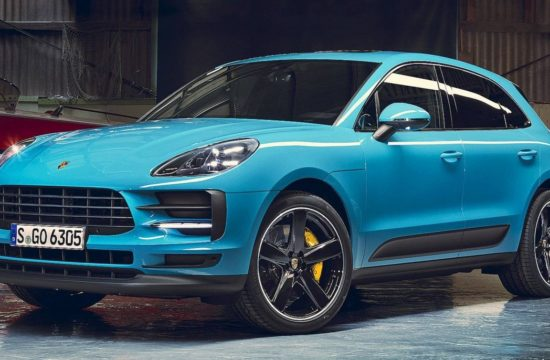 2019 Porsche Macan 1 550x360 at 2019 Porsche Macan Unveiled in Shanghai