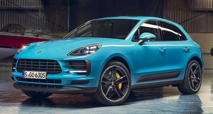 2019 Porsche Macan 1 730x391 at 2019 Porsche Macan Unveiled in Shanghai